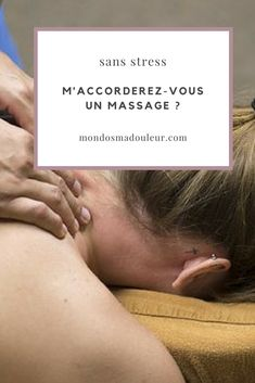 ...ou pourquoi pas un siège de massage... Massage, Stress, Retirement, Psychological Stress, Massage Therapy