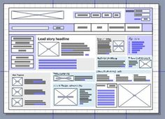 hand drawn wireframe - Google Search