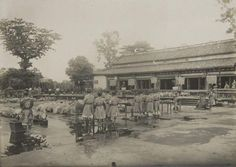 Photographe non identifié Indochine, c. 1919-1920. Hué, cité impériale.