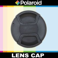 Polaroid Studio Series Snap Mount Lens Cap For The Sony Alpha DSLR SLT-A33, A35, A37, A55, A57, A65, A77, A99, A100, A200, A230, A290, A300, A330, A350, A380, A390, A450, A500, A560, A550, A700, A850, A900 & Minolta Maxxum Digital SLR Cameras Which Have Any Of These (18-70mm, 18-55mm, 75-300mm, 55-200mm, 35mm f/1.8, 85mm f/2.8, 50mm, 100mm) Sony Lenses