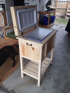 Ice chest / out door furniture