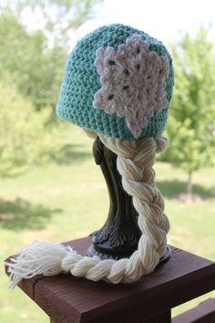 Queen Elsa Princess Frozen Inspired Hat by jackiedye on Etsy, $27.00