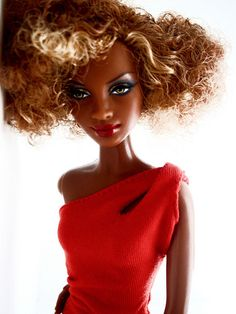 Barbie's come hither look