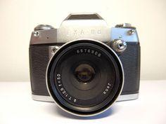 Vintage Ihagee Exa IIa SLR 35mm Camera RARE Jena T Tessar 1 2 8 Lens and Case | eBay