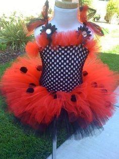 LadyBug Costume TuTu Set