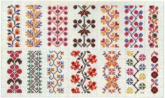 Border 74 | Free chart for cross-stitch, filet crochet | gancedo.eu