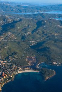 Views of the Costa Smeralda from the plane