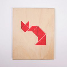 TANGRAM FOX from Plywood Series - Significant Others $95