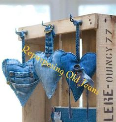 Excellent Cost-Free 60 original jeans upcycling ideas to imitate Concepts I enjoy Jeans ! And even more I want to sew my very own Jeans. Next Jeans Sew Along I am going to Jean Crafts, Denim Crafts, Upcycled Crafts, Repurposed, Fabric Crafts, Sewing Crafts, Sewing Projects, Garden Projects, Artisanats Denim