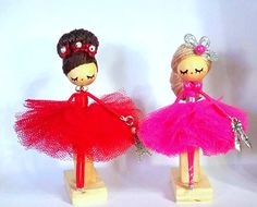 Ballerina Necklace jewelry doll