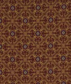 Robert Allen King Louie Aged Brick Fabric