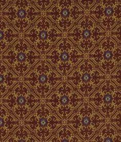 Robert Allen King Louie Aged Brick Fabric