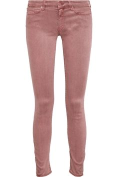 The Looker low-rise skinny jeans by Mother