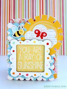 Ray of Sunshine Mini Album (Echo Park) - Scrapbook.com