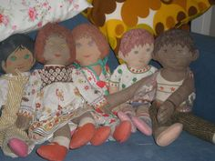 well loved clothkits dolls