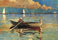Winslow Homer:Cloucester Harbor