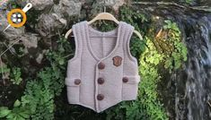 Ata Yeleği Nasıl Örülür ? - Çocuklar İçin Örgü Efe Yeleği Nasıl Yapılır ? Vest, Jackets, Crafts, Women, Fashion, Down Jackets, Moda, Manualidades, Fashion Styles