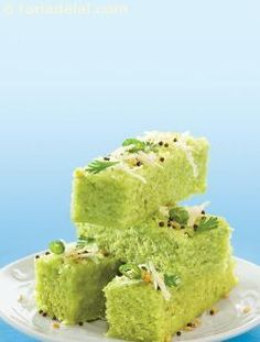 Chola Dal Dhokla ( Know Your Dals and Pulses ) by Tarla Dalal
