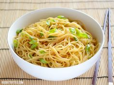 Garlic Noodles - BudgetBytes.com