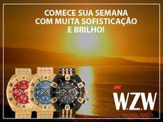 A WZW Relógios Deseja a todos um excelente inicio de semana!  Os melhores relógios Análogos e Cronógrafos com Design alemão exclusivo e alto padrão de qualidade você encontra na W.Z.W.  Conheça todos os nossos modelos através do nosso site. www.wzwrelogios.com.br  #WZWRelógios #RelógiosSofisticados #Sofisticação #Beleza #Luxo #Elegância #Estilo