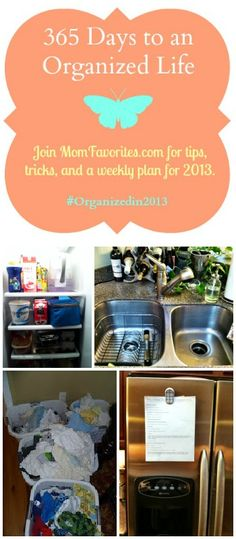 Wonderful organizing tips