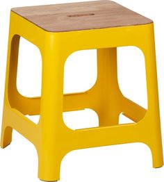 hitch marigold stool in new furniture | CB2