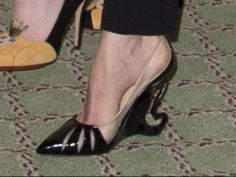 Picture of Jolie's heels | The actress, who plays the villain in the upcoming Sleeping Beauty ...