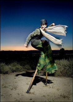 Zen Arts Stilt Walker