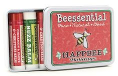 Dragonfly Sweetnest: Beessential Happbee Holiday Lip Balm Tin Review/Giveaway {2018 Holiday Gift Guide}