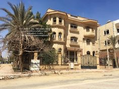 Villa for Sale in New Cairo Tagamoa El Awal Fully Finished Swimming Pool Prices, Swimming Pools, Cairo, Egypt, Villa, Real Estate, Mansions, House Styles, Home Decor