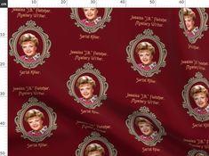 Murder, She Wrote, Serial Killer edition - Spoonflower Serial Killers, Custom Fabric, Spoonflower, Couture, Design, Haute Couture