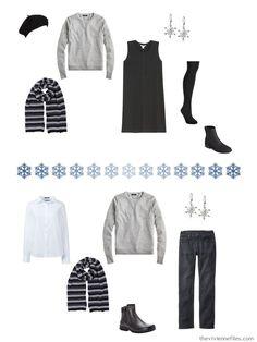 Cool Winter Color Palette, Winter Colors, The Vivienne, Travel Toiletries, Wearing Black, Wardrobes, Capsule Wardrobe, Plus Size Fashion, Travel Capsule