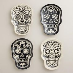 WorldMarket.com: Muertos Plates, Set of 4