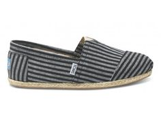 Striped shoes by Toms!