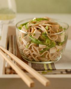 Lucky New Year's Food: Soba - Asian Noodle Salad Recipe