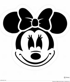 Here& a Mickey Mouse Halloween Pumpkin Carving stencil and a Minnie Mouse pumpkin carving template for you to print and use this Hal. Disney Halloween, Spongebob Halloween, Pumpkin Template, Pumpkin Carving Templates, Minnie Mouse Pumpkin Stencil, Mini Mouse Pumpkin, Disney Pumpkin Stencils, Calabaza Disney, Halloween Pumpkins