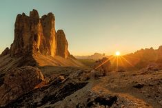 Who can see him jump? by Dominic Kummer on Sunset in the Dolomites. Beautiful Sunset, Beautiful World, Great Pictures, Cool Photos, Landscape Photography, Nature Photography, Visit Italy, The Real World, World Heritage Sites