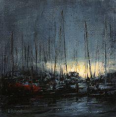 "Lindsey Kustusch ""Evening on the Embarcadero"