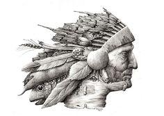 Illustration by Redmer Hoekstra | #graphics #illustration #picture #handdrawn #pencil