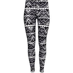 H&M Patterned leggings ($5.27) ❤ liked on Polyvore featuring pants, leggings, bottoms, jeans, calças, patterned pants, elastic waist pants, cotton pants, h&m leggings and cotton leggings