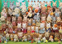 Sylvanian families. I had pretty much every Sylvanian family character and house ever made. Didn't actually stop playing with them until I was about 13. :') I feel like I was spoilt rotton but these were my favourite toys of all time (still love them and will never throw them away)