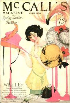 1920's Magazine Cover