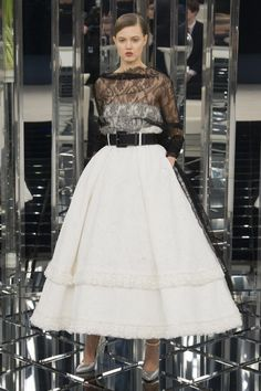 Chanel Spring 2017 Couture Fashion Show - Amanda Sanchez