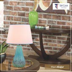 Mavi Abajur Evlerinizi Şık ve Modern Hale Getirecek güzelliklerle tavcam.com'da. Detaylı incelemek için linke tıklayın:http://bit.ly/2hXDCKQ #tavcamavizeaydınlatma #plaforyer #plafonyeravize #avizeci #üretim #aydınlatma #dekorasyon #elyapımı #camsanatı #şık #Turkey #exclusive #special #bright #design #art