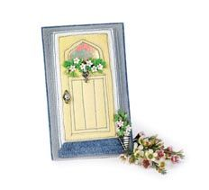 April Door of the Month > Creative Home Arts Club Art Club, Creative Home, Home Art, Stitching, Craft Ideas, Diy Crafts, Embroidery, Sewing, Frame