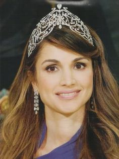 queen rania crown - Buscar con Google