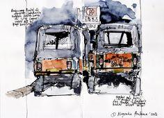 Love this sketch page of Bajaj by Indonesia's Sketchers @agapratama