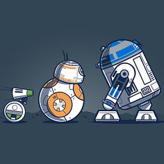 TeeTurtle - Cute, nerdy, pop-culture t-shirts! Droides Star Wars, Star Wars Droids, Star Wars Boba Fett, Star Wars Gifts, Star Wars Classroom, Star Wars Painting, Day Of The Shirt, Batman Tattoo, Star Wars Merchandise