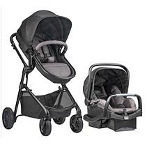 The Evenflo Pivot Modular Travel System is a versatile stroller for your family. Consists of the Evenflo PivotPlus modular stroller and the SafeMax Infant Car Seat. Stroller is suitable for children up to 50 lb. Toddler Stroller, Car Seat And Stroller, Travel Stroller, Umbrella Stroller, Jogging Stroller, Double Strollers, Baby Strollers, Evenflo Pivot, Travel Systems For Baby