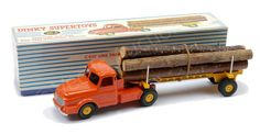 French Dinky no. Tracteur Willeme with log load Tin Toys, Toy Story, Scale Models, Old And New, Vintage Toys, Hot Wheels, Diecast, Corgi, Collections
